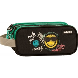 Triple body Pencil pouch