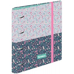 Ring binder with block