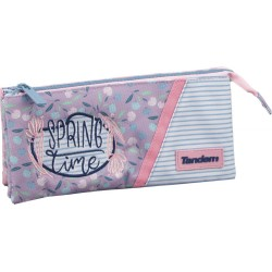 Pencil pouch 3 pockets NEW