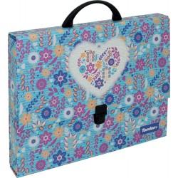 Cardboard briefcase