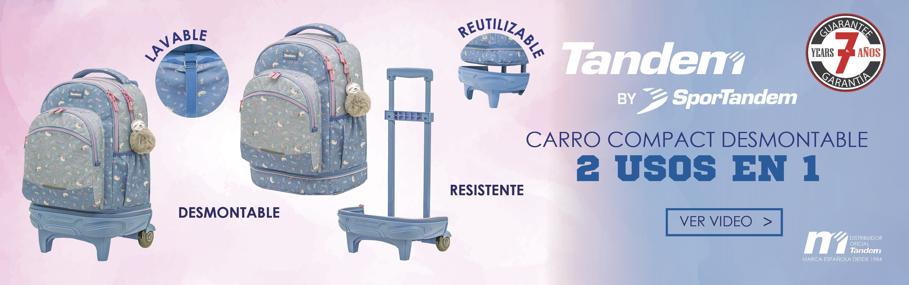 CARRO COMPACT DESMONTABLE